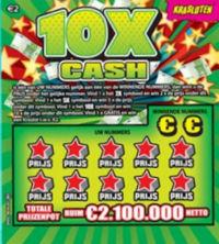 Krasloten - 10x Cash
