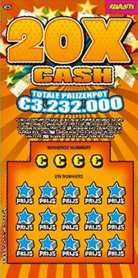 Krasloten - 20x Cash
