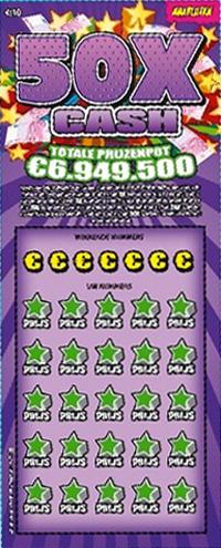Krasloten - 50x Cash