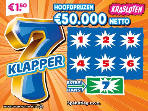Krasloten - 7 klapper