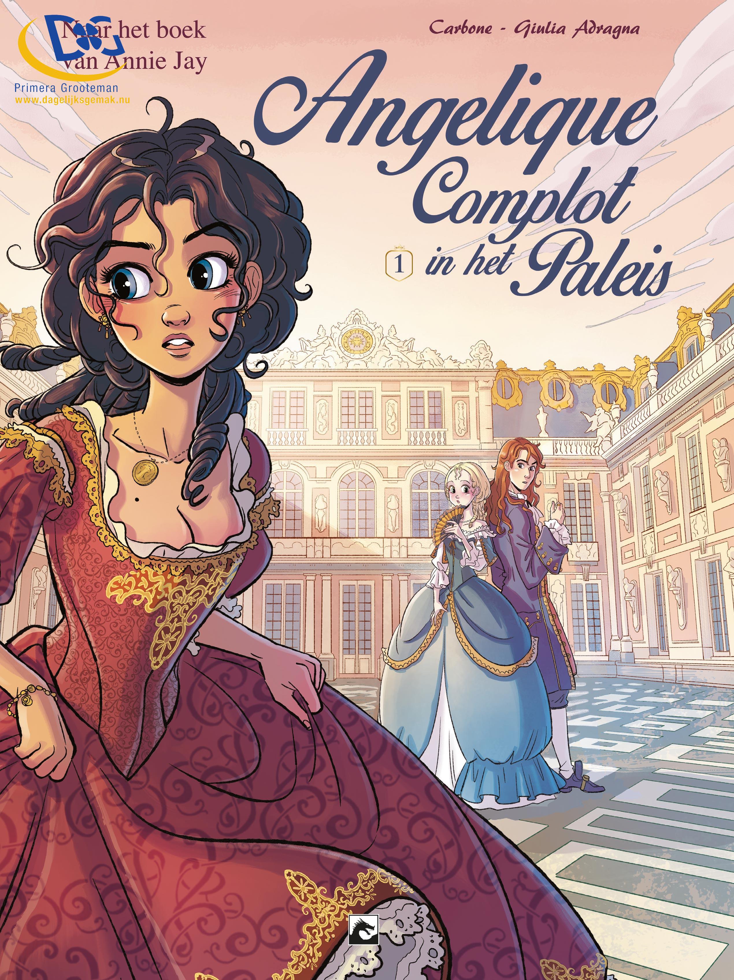 Angelique, Complot in het paleis