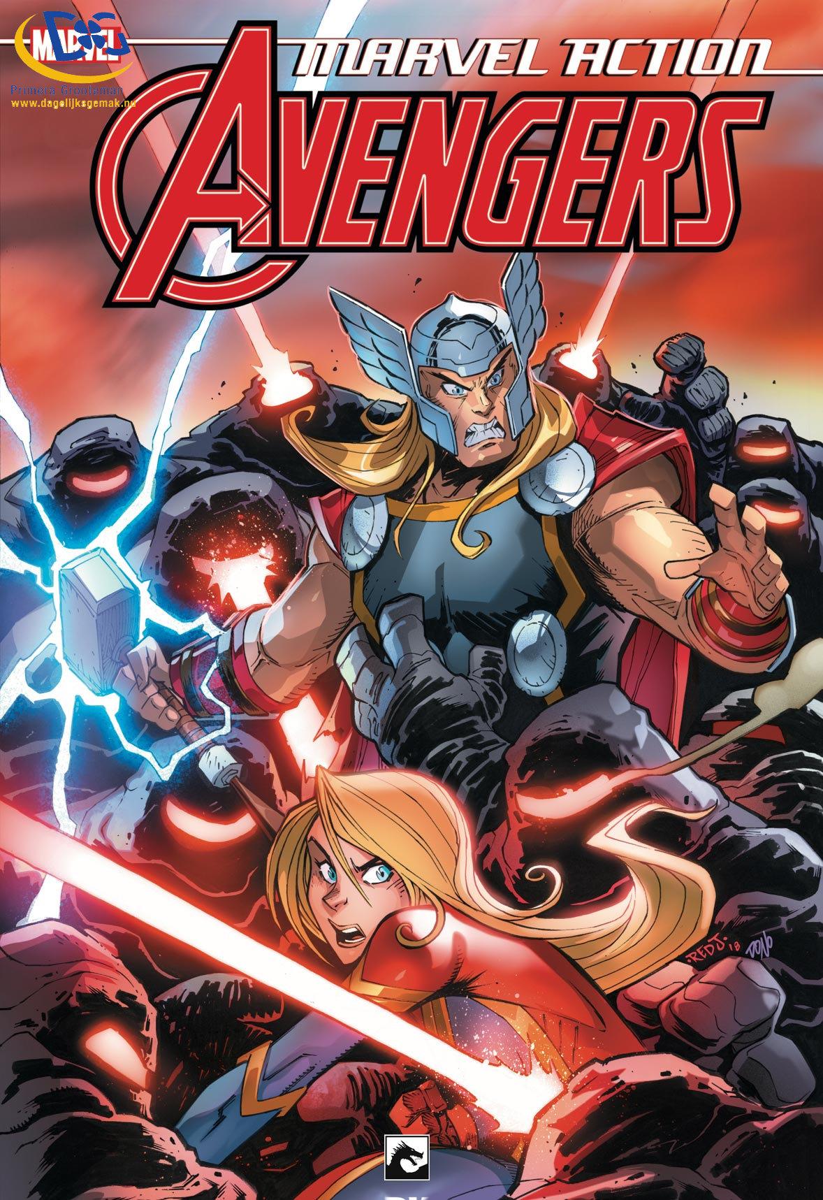Marvel Action: Avengers 2, De rode wereld