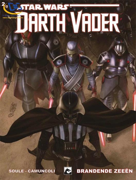 Star Wars Darth Vader 18, Brandende zee�n 2