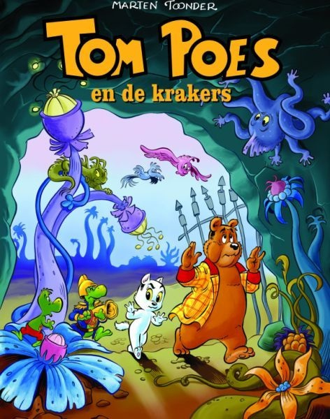 Tom Poes 01 en de Krakers