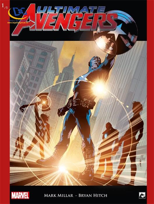Ultimate Avengers 1, SuperHuman