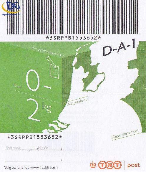 Aangetekende postzegel