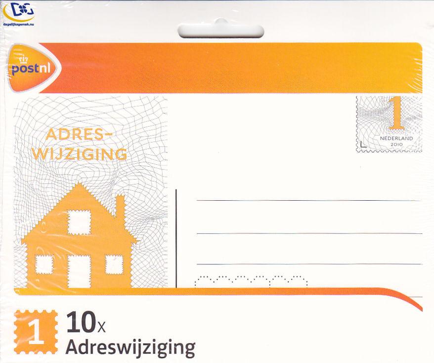 Adreswijzigingskaart