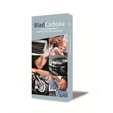 Bladcadeau Blue (For Men)