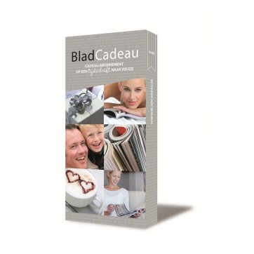 Bladcadeau Silver
