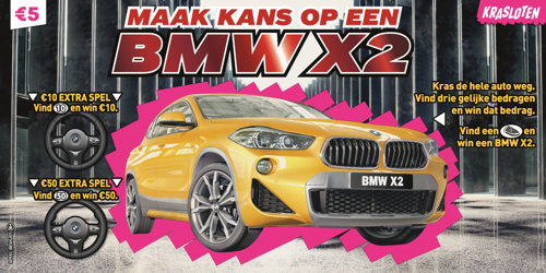 Krasloten - BMW X2