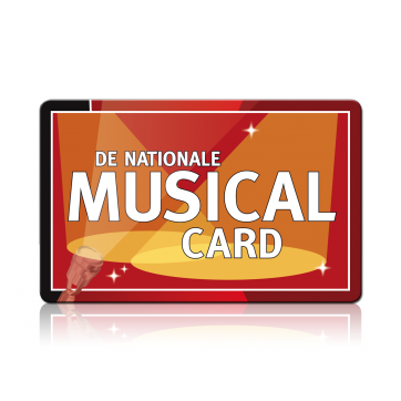 Nationale Musical cadeaukaart