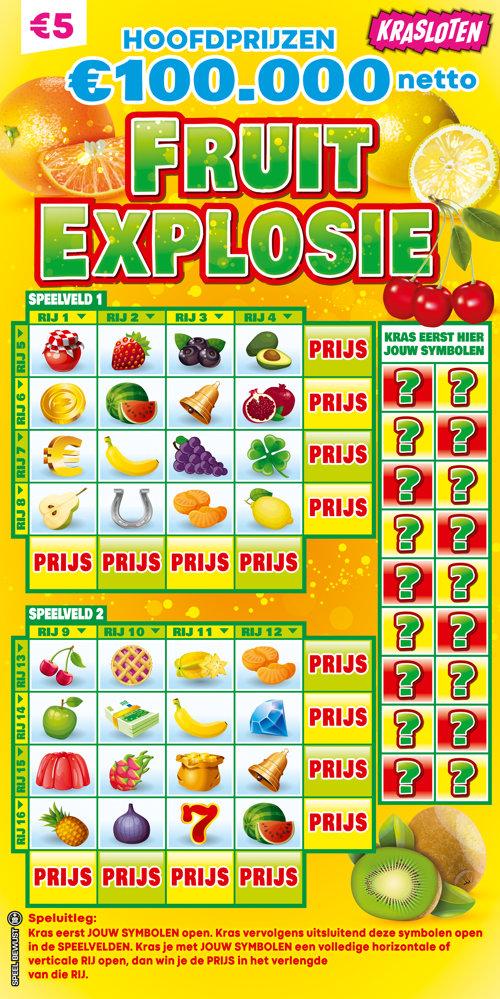 Krasloten - Fruit Explosie