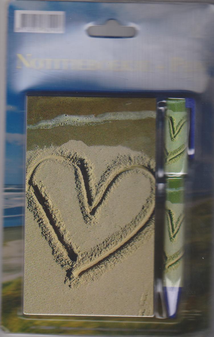 Notitieblokje + Pen holland - natuur - lieveheersbeestje