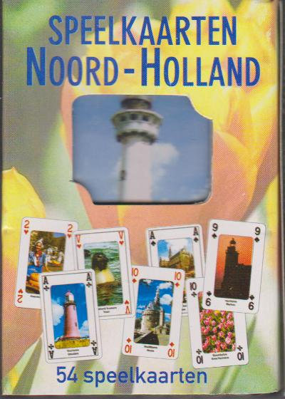 Speelkaarten Noord - Holland