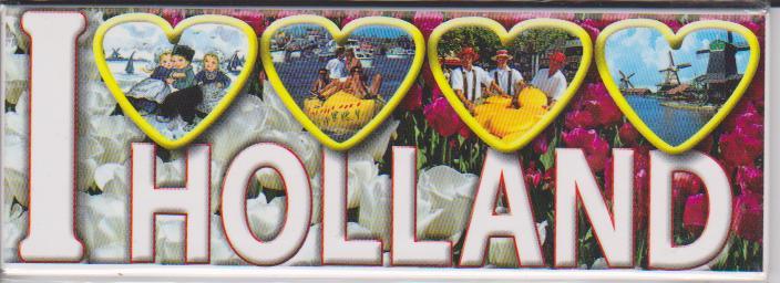 Magneten || I Love Holland
