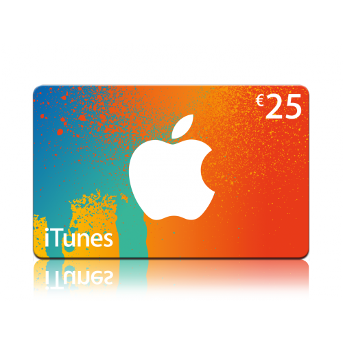 iTunes Giftcard 25