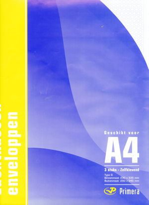 Primera Luchtkussen, G - A4
