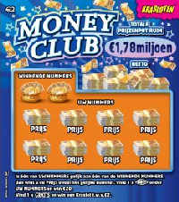 Krasloten - Money Club 2 euro