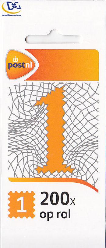 200x - Zakelijke 1 postzegel