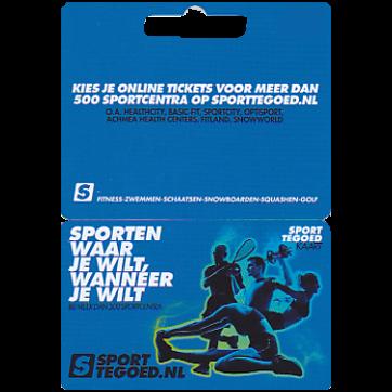 Sporttegoed.nl Cadeaukaart