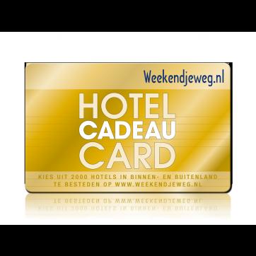 Weekendjeweg - Hotel cadeaukaart
